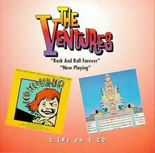 The VENTURES - Rock and Roll Forever/Now Playing  (CD 1997) One Way Records
