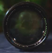 Nice Auto SEARS MD 70-210 mm f/4 Close Focus Zoom Lens with Minolta MD Mount