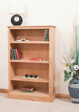 OAK BOOKCASE WITH 4 SHELVES | HANDMADE TO ORDER