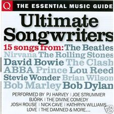 Q Magazine Ultimate Songwriters 15 track cd Stevie Ray Vaughan Bjork Bangles ++