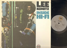 LEE KONITZ INSIDE HI-FI 1957-1987 LP USA Billy Bauer Arnold Fishkind Dick Scott