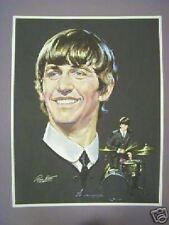 The Beatles Ringo Starr Volpe Color Portrait Poster