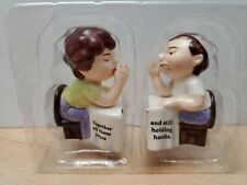 Couple Holding Hands: Together After These Years Salt and Pepper Shaker Set
