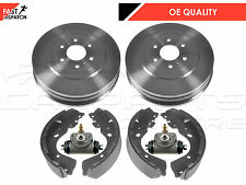 FOR NISSAN NAVARA D40 2.5 3.0 TD REAR BRAKE SHOES BRAKE DRUMS WHEEL CYLINDERS
