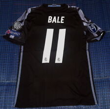 Gareth Bale#11 Real Madrid 3rd Black 2016 UCL Jersey size L