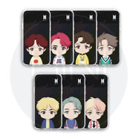 BTS Official Authentic Goods CHARACTER UPPER BODY Light up Case + Tracking Nu