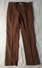 LOFT Marisa Size 4 Cinnamon Brown Trousers