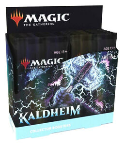 Magic the Gathering Kaldheim Collector Booster Box Factory Sealed MTG BRAND NEW