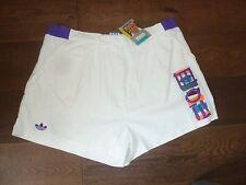 "Vintage OG BNWT nos Adidas Lendl EDBERG Tennis Shorts 1980 S Casuals L UK38 38"""
