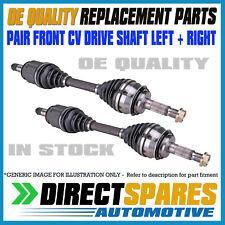 PAIR HYUNDAI ACCENT LC LS 1.5L 1.6 MANUAL 06/00-05/06 L&R CV Joint Drive Shafts