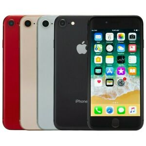 Apple iPhone 8 64GB Gold Space Gray Red Silver AT&T Locked Very Good Condition