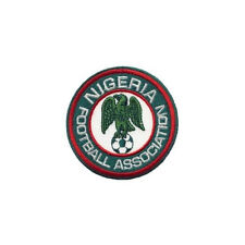 NIGERIA FOOTBALL ASSOC.. FIFA CUP IRON-ON PATCH CREST BADGE 2.5 INCH IN DIAMETER