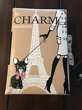 Authentic Brighton My Flat In London Charm Connoisseur Book Clutch/Purse