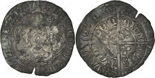 Great Britain: Groat silver N.D. (Henry VII, 1489-1497, cinquefoil mm) - F-VF