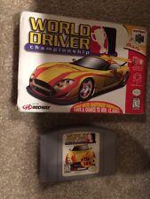 World Driver: Championship (Nintendo 64, 1999) Used