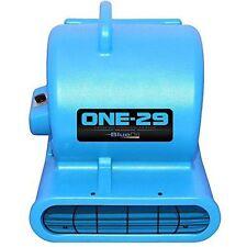 BlueDri One-29 Air Mover Blower Floor Drying Fan Carpet Dryer (Blue)