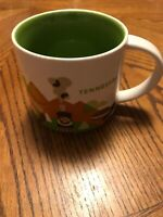 2017 STARBUCKS TENNESSEE You Are Here Collection 14 Oz. Coffee Cup Mug