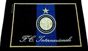 BANDIERONE INTER UFFICIALE Bandiera Grande mis. 210 x 140 cm. F.C.Internazionale