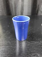 ANTIQUE Vtg  COBALT BLUE FIESTA JUICE TUMBLER FIESTAWARE HOMER LAUGHLIN