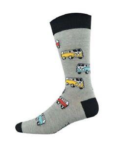 Bamboozld socks - Grey COMBI Van SOCK - Regular fit 7-11 - FREE Post in Aus