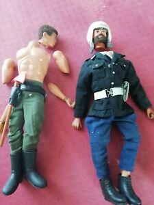 Lot de 4 figurines Action Joe et accessoires