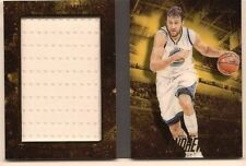 ANDREW BOGUT 2015-16 PANINI PREFERRED NBA FINALS GAME 2 USED JERSEY BOOKLET /99