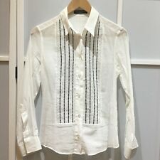 100% authentic Dolce & Gabbana sheer blouse/shirt