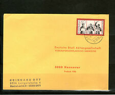 Briefmarken aus der BRD (1970-1979) mit Bedarfsbrief-Erhaltungszustand