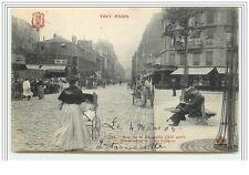 PARIS XI Rue de la Roquette Vue prise de la Place Voltaire Tout Paris Fleur