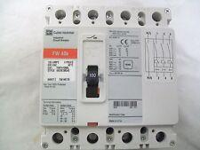 Cutler-Hammer FWF100 0L 100 Amp 690 Volt 4 Pole Industrial Circuit Breaker