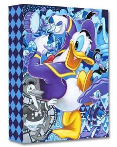 Celebrate The Duck - Tim Rogerson-  Treasure On Canvas Disney Fine Art