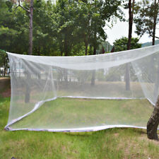 5m(16.5ft) Extra Large size White Mosquito Fly Net Netting Outdoor Camp bug