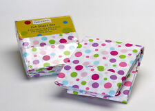 Baby: Pink Spot Printed Cot Sheet Set by Jiggle & Giggle | 100% Cotton