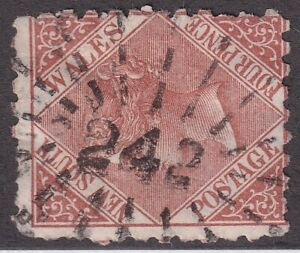 NSW numeral postmark 242(2)(2) of NARRANDERA [rated 4R] Type 3R16