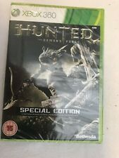 X BOX 360 - HUNTED THE DEMONS FORGE SPECIAL EDITION - NEW & SEALED - UK VERSION