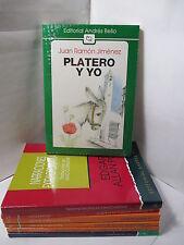 PLATERO Y YO - JUAN RAMON JIMENEZ Graded Spanish Literature Libros en Espanol