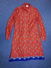 1970s Nancy Valentine dress Fish & Anchors
