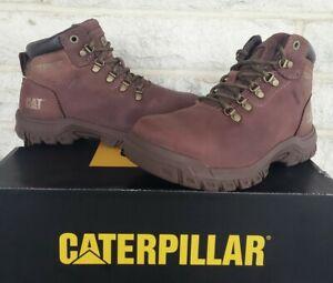 Caterpillar CAT Womens Mae Steel Toe Waterproof Work Boots Size 5.5 Cocoa P91011