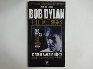 BOB DYLAN ♦ RARE FRENCH PoS ( PLV ) ♦ TELL TALE SIGNS