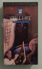 STILL LIFE TECHNIQUES with buck paulson   VHS VIDEOTAPE NEW