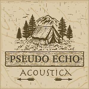 "PSEUDO ECHO OFFICIAL ""ACOUSTICA"" ALBUM ON CD"