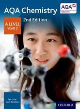 AQA Chemistry A Level Year 2 Student Book by Ted Lister, Janet Renshaw...