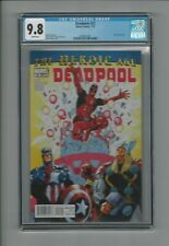 Deadpool #23 CGC 9.8 NM/M Marvel Comics 7/10 Grizzly Captain America Thor