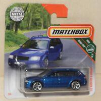 2019 Matchbox '02 AUDI RS 6 AVANT blau RS6 Kombi MBX Road-Trip 10/20 # 16 FYR66