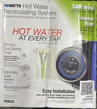 NEW WATTS HOT WATER RECIRCULATING SYSTEM 500800