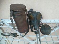 No REGIO ESERCITO 1940 maschera antigas tedesca Wehrmacht MAG mask orig. 100%!!!