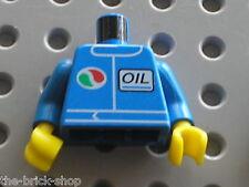 Buste LEGO Minifig Torso Octan & OIL 973px238 / Set 10184 7993 4223 6424 6543...