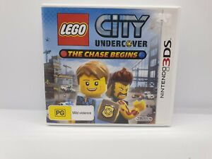 LEGO City Undercover: The Chase Begins (3DS, 2013) AUS PAL Version - Free Post!!