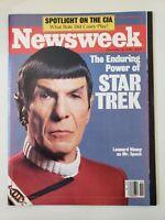 NEWSWEEK Magazine December 22 1986 LEONARD NIMOY SPOCK STAR TREK COVER & FEATURE