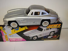 Mercedes Benz Sedan 1956 Silver/Grey Friction car with Sound With Original Box